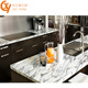 High Quality Prefab Double Sink Granite Precut Kitchen Countertop