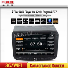 Capacitance screen High quality Special 2 din Car radio audio dvd for GEELY Emgrand EC7 2012 2013 Navigation GPS IPOD bluetooth