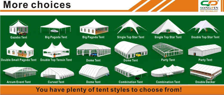 big outdoor aluminum cheap 10x10 pyramid tent ts with linings and curtains for wedding event and  sc 1 st  Guangzhou Songpin Tent Technology Co. Ltd. - Alibaba : tents for parties and events - memphite.com