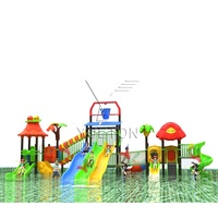 Professional Water Slides Outdoor Playground Water Entertainment Equipment