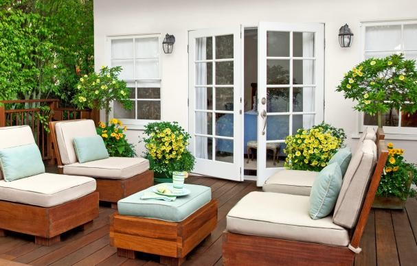 product-Zhongtai-White Coloured Aluminum Frame Double France Patio Swing Door For Sale-img-1