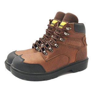Wholesale Leather Steel Toe Industrial Work Boot