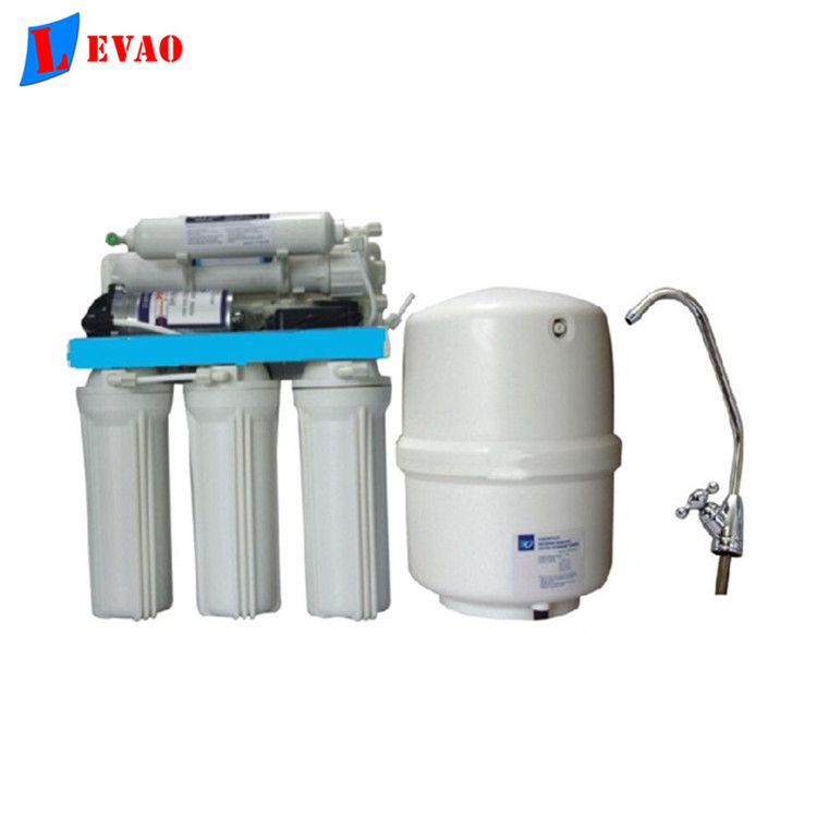 bio energy filtration system under sink 5 stages R O household water filter