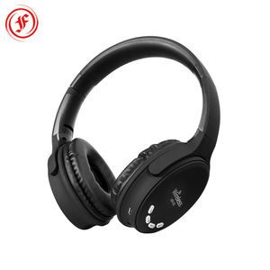 Noise isolation over-ear headband wireless headphone, stereo headset hands free with TF and FM
