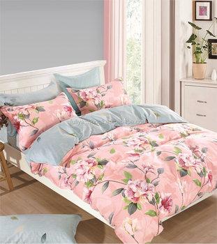 Cotton Bed Sheets Wholesale 100% Cotton Fabric Bedding Set Sheet Sets