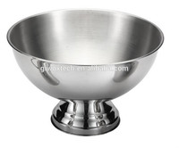 Bowl Shaped Ice Bucket,Stainless Steel Round Ice Bucket,Metal Ice ...