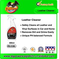 Leather Cleaner for Car Care, Household, Office