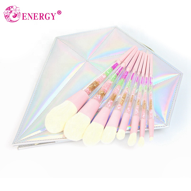 Free <strong>sample</strong> 8pcs cosmetic brush <strong>makeup</strong> Acrylic handle private label <strong>makeup</strong> brush set <strong>makeup</strong> brushes