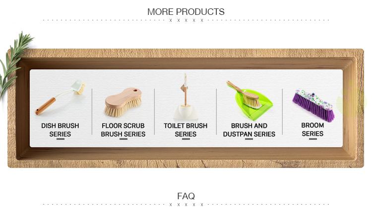 Filippine push angolo di nylon duro prezzo basso setole di plastica scope