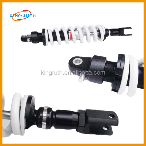 Performance dirt/pit bike adjustable shock absorber
