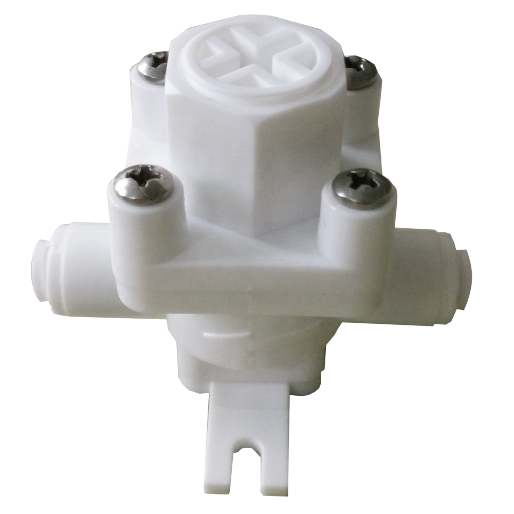 RO Water Pressure Reducing Relief Valve OD Hose Quick Connection Fitting Regulator for Reverse Osmosis System