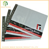 Co-extruded poly mailer bags white color hot melt adhesive mailing bags