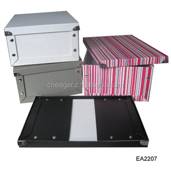 Custom Folding Paper Storage Box,Home Decorative Multipurpose ...