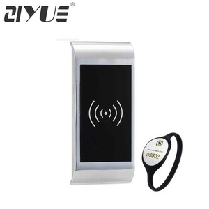 High Quality Universal Key Metal Iron Electronic Smart RFID Hidden Cabinet Door Lock EM126