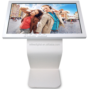 65inch touch screen all in one pc desk, video advertising display