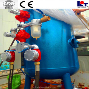 certificate Approved Sand Blasting/Dustless Sandblasting Equipment