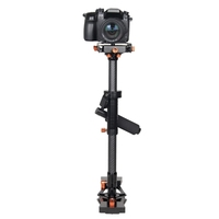 YELANGU S800 Professional 47-80cm Maximum Burden 5kg Carbon Fibre Handheld Stabilizer for DSLR & DV Digital Video & other Camera