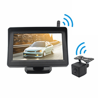 4.3 inch Monitor Back Up Car Camera Wireless car reversing aid Car Rear View Reverse Camera System