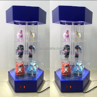 New style rotating acrylic display shelf counter/acrylic display counter