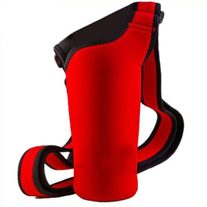 Hot Sale Fashion Neoprene Water Bottle Holder, Shoulder Strap Water Bottle Holder