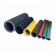 high strength electrical insulation hollow round fiber glass tube