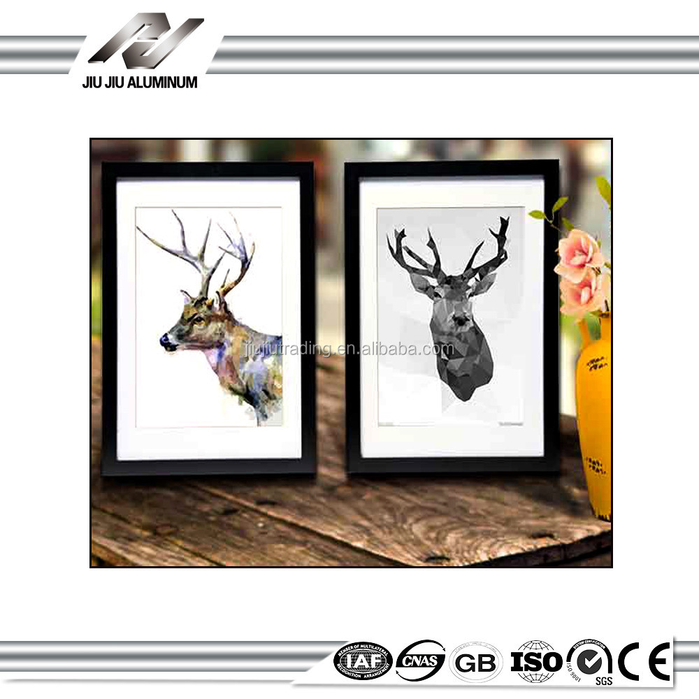 New Creative family black metal picture and frames