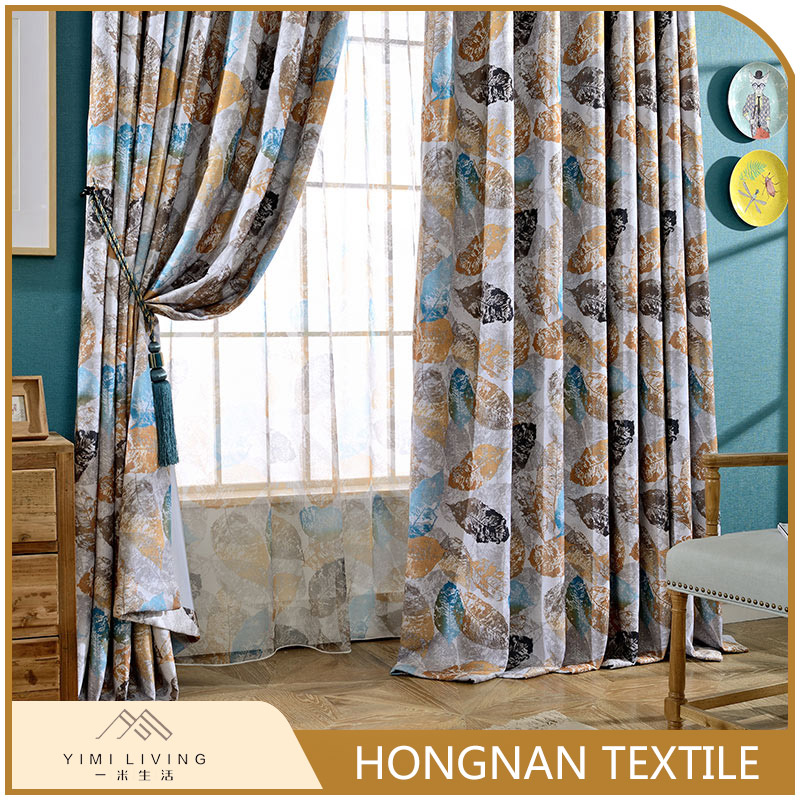 Modern design wholesale new window european style curtains