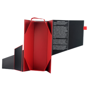 Foldable Wine Paperboard Box