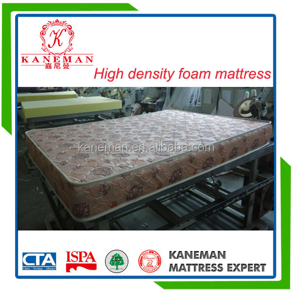 Cheap price roll up high density camping foam mattress made in China