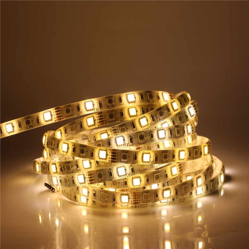 Free sample IP20 IP57 IP67 IP68 waterproof 14.4W/M DC12 24V led strip 5050 RGB