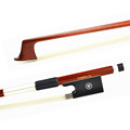A NICE BALANCE PERNAMBUCO VIOLIN BOW for PROFESSIONAL Unbleached Mongolia Horse Hair Brown Colorful and ROUND