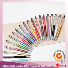 Custom Mutil Color Crystal ball pen for wholesale