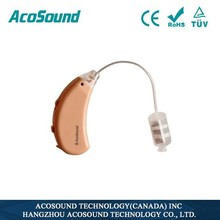 AcoSound Acomate 220 RIC Digital hearing aid BTE, ear sound amplifier for elderly care