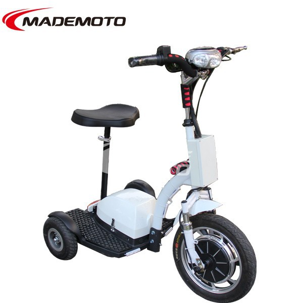 Adult three wheel scooter