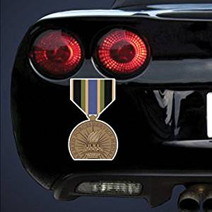 """US Army Medal Armed Forces Armed Forces Service Medal 1 () 6"""" Magnet"""