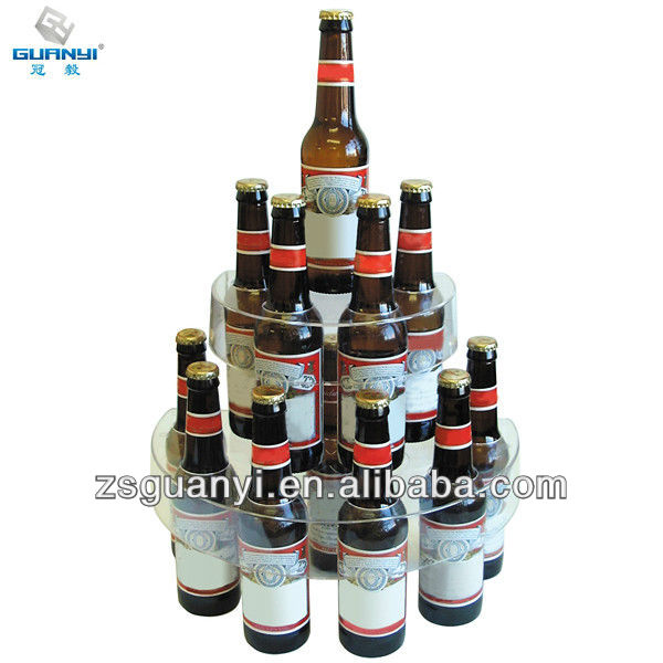 acrylic Beer Display Stand used in bar
