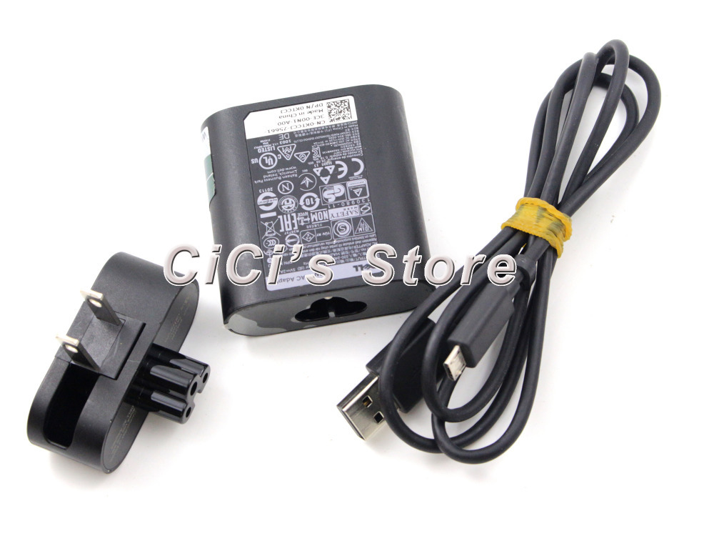 24W Dell Venue 11 11i Pro Tablet PC power supply ac adapter cord cable charger