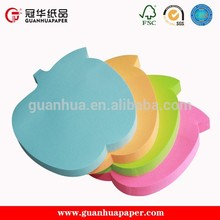 High quality popular fruit shaped sticky notes