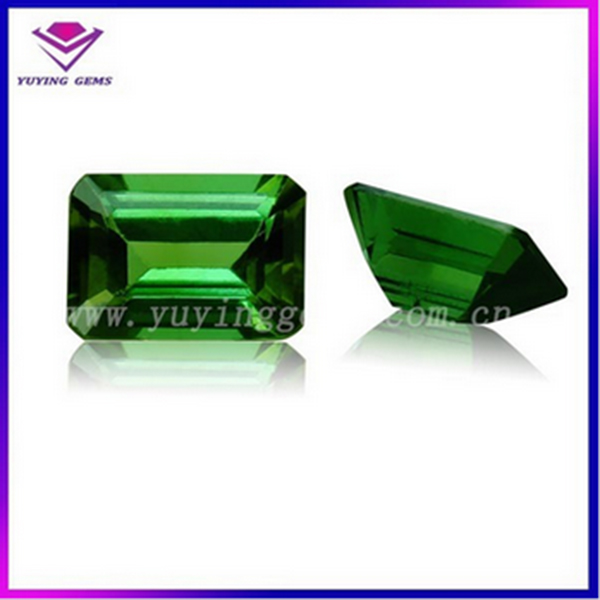 Emerald Gemstone Material and Synthetic (lab created) Gemstone Type synthetic stones