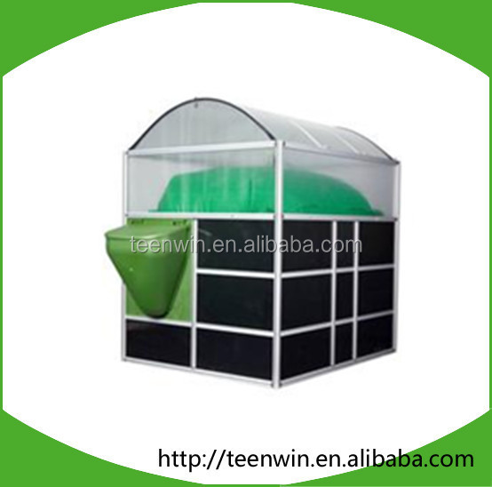 100m3 family size biogas digester