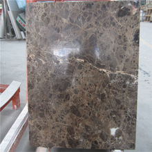Factory supplier dark emperador super thin marble sheets tiles price thickness 1cm 10mm cost