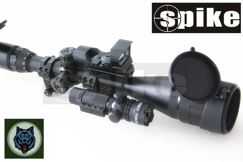 6 24x50 optik zielfernrohr gewehr scope 4 art absehen red dot