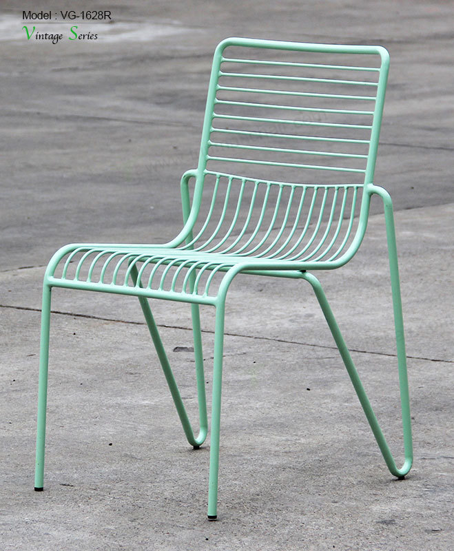 Triumph Outdoor indoor Furniture Mesh Stackable Wire Dining Chair Buy Outd