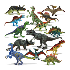 Wholesale Large and Mini plastic pvc colorful Dinosaur DIY Toys Sets Realistic Dinosaur Figures with Dinosaur egg for kids