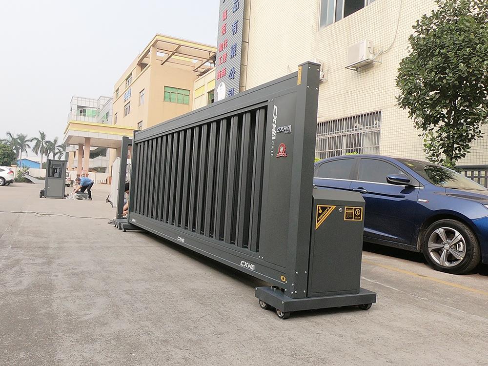 Latest Design Boundary Wall Luxury Electric Automatic Telescopic Sliding Gate