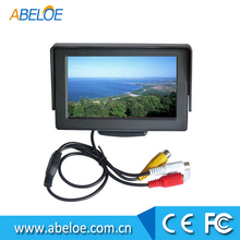 4.3Inch LCD 1920 x1080P rear view mirror car monitor with G-sensor function