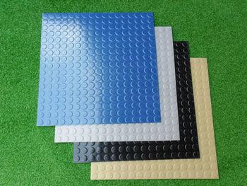Rubber Flooring Artificial Grass Doormat Oval Track Stair