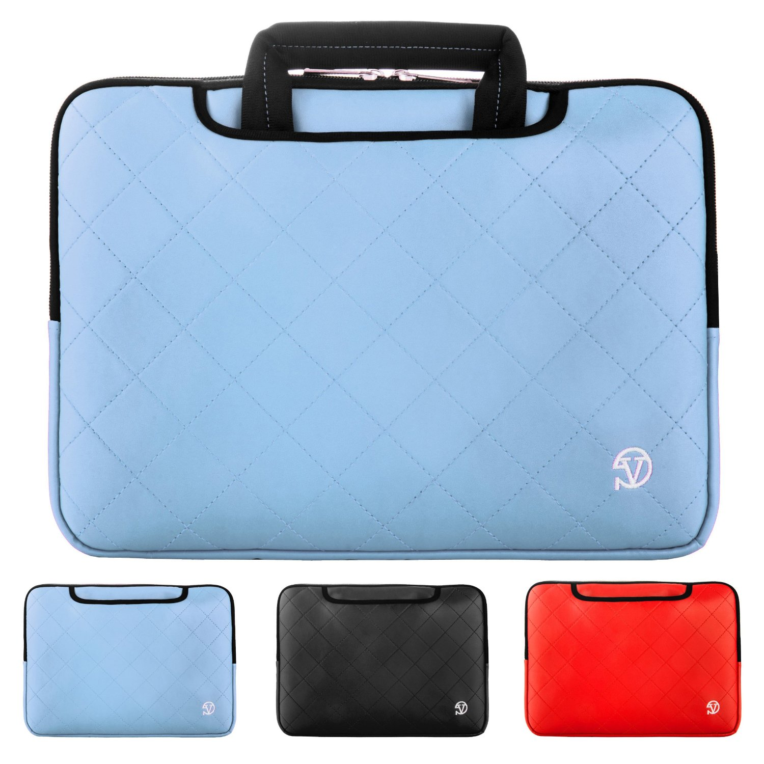 "VanGoddy 15.6"" Laptop Carrying Sleeve for Lenovo 15.5"" Business Laptop/ Flex 3 15.6""/ X1 Carbon/ Ideapad 300/ 500/ Y700/ Yoga 700/ Yoga 900/ Thinkpad Yoga 14"" 15.6"""