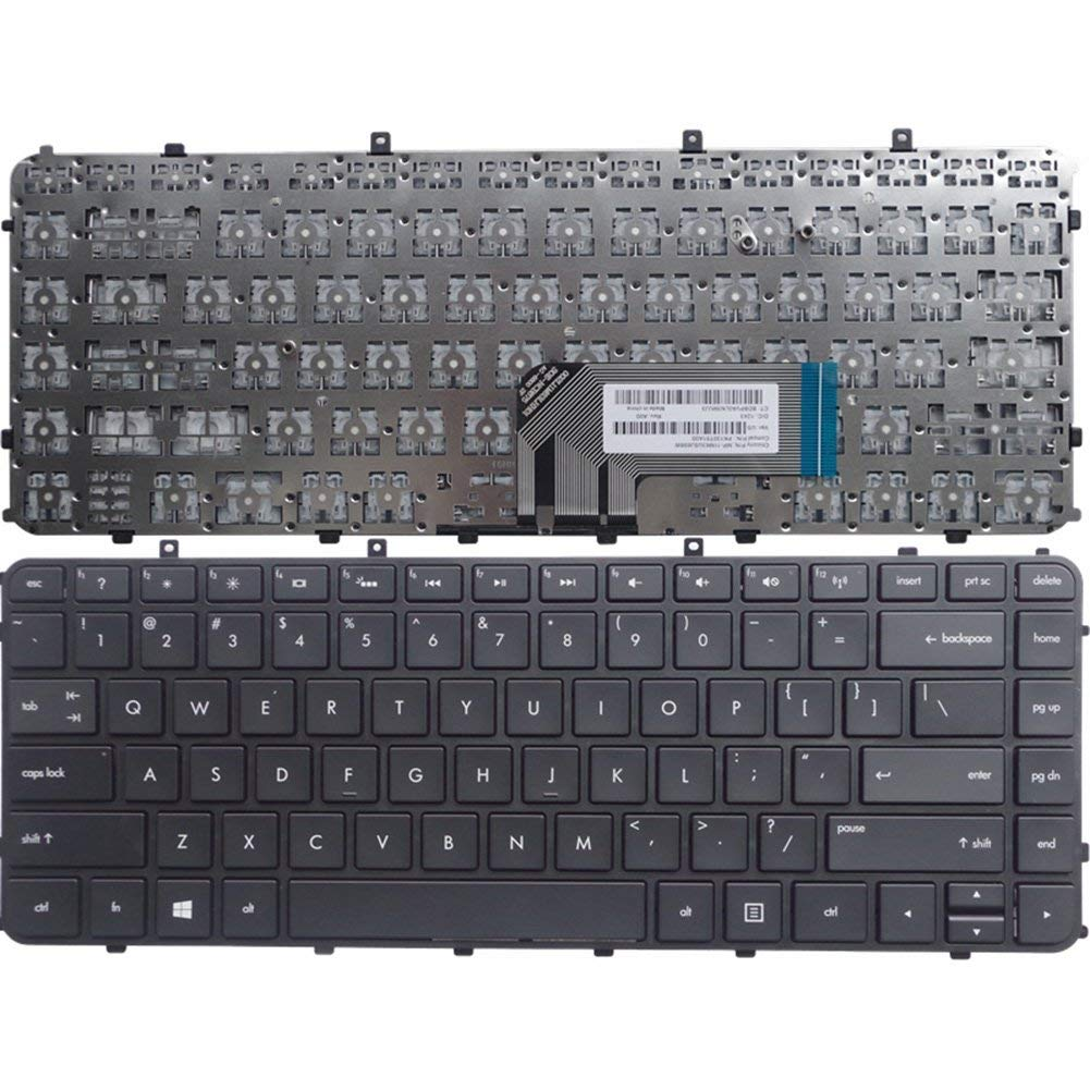 KEYSHEN Laptop Notebook Replacement Keyboard For HP TPN-C102 TPN-C103 HSTNN-UB3R-IB3R US Layout