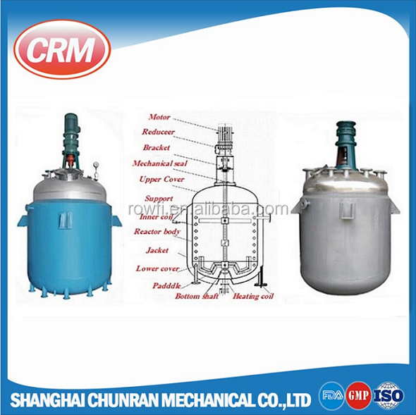 Industrial simple batch soap saponification reactor